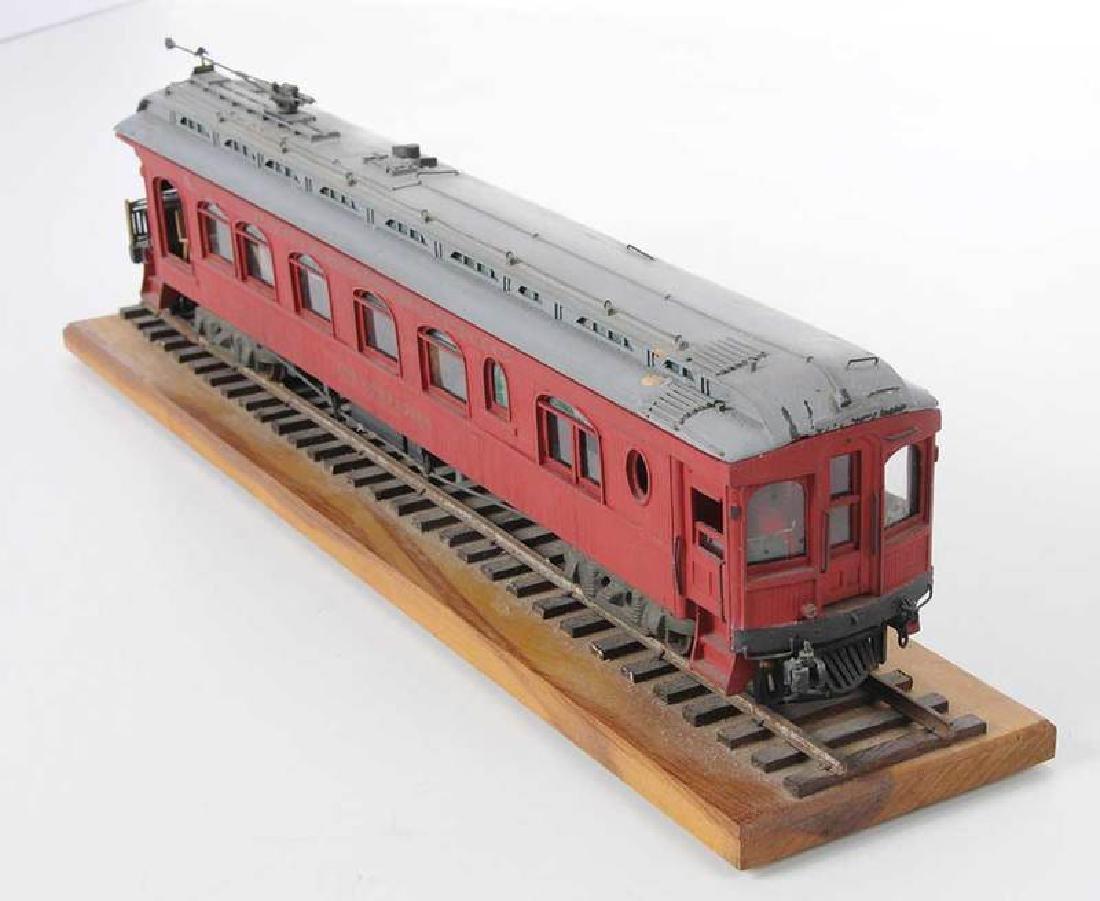 Handcrafted Train Car Model - 4