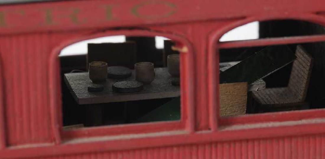 Handcrafted Train Car Model - 5