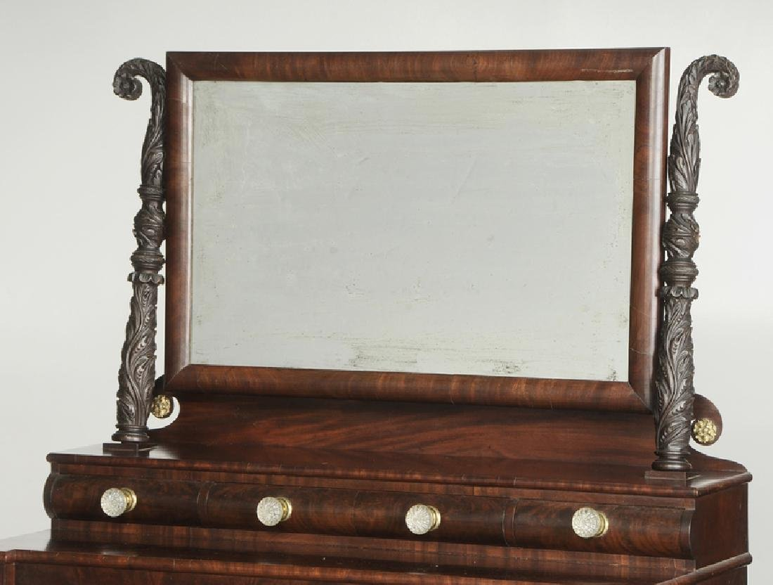 American Late Federal Carved MahoganyDresser - 2
