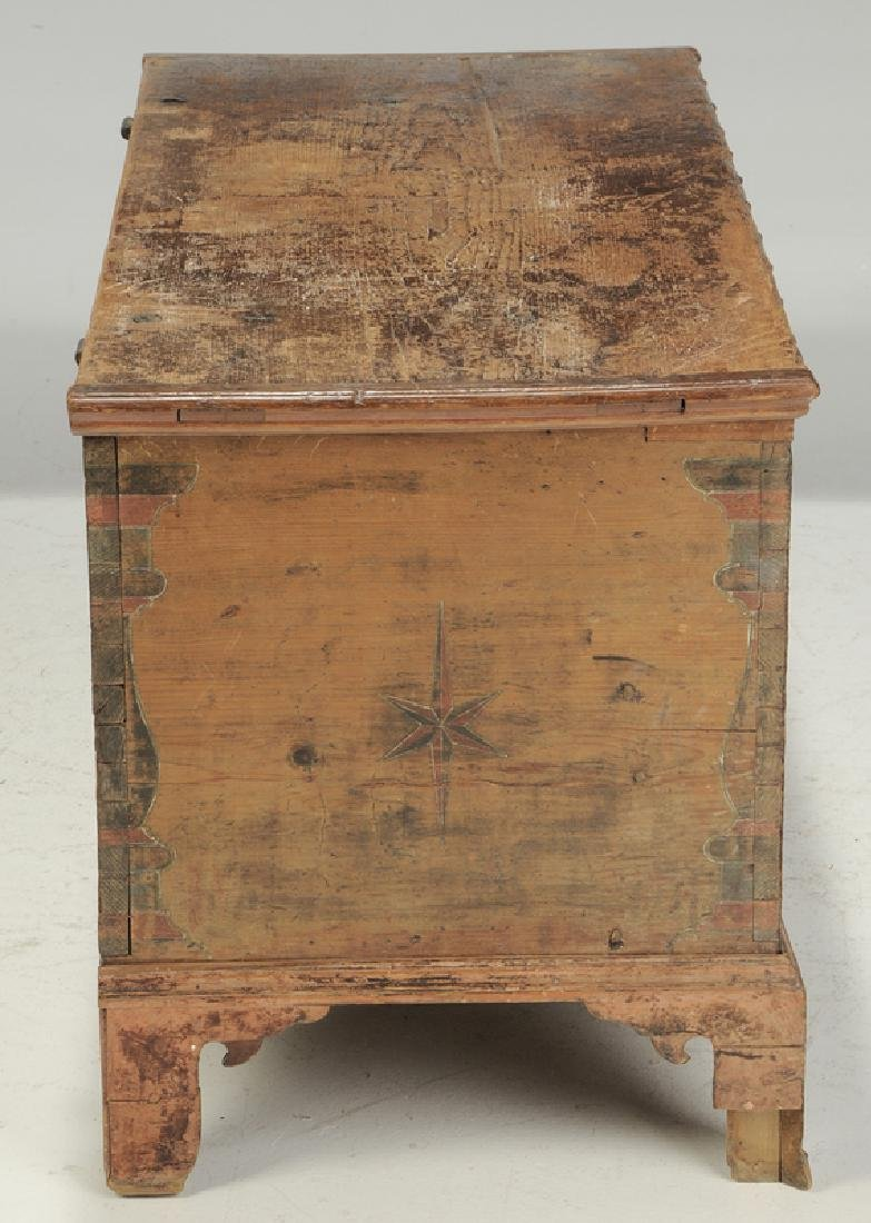 Pennsylvania Chippendale Decorated Blanket Chest - 10