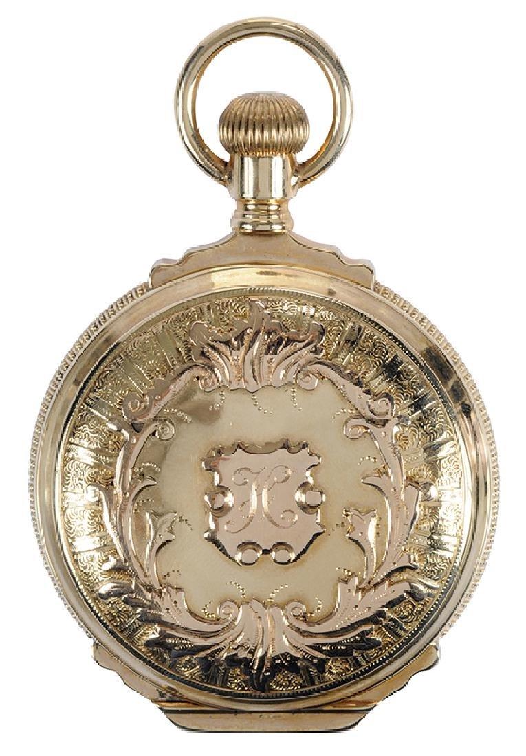14kt. Elgin Hunting Case Pocket Watch