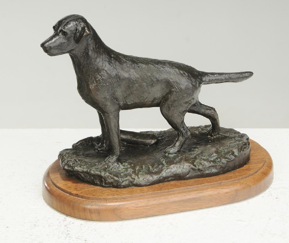 Three Dog Sculptures - 2