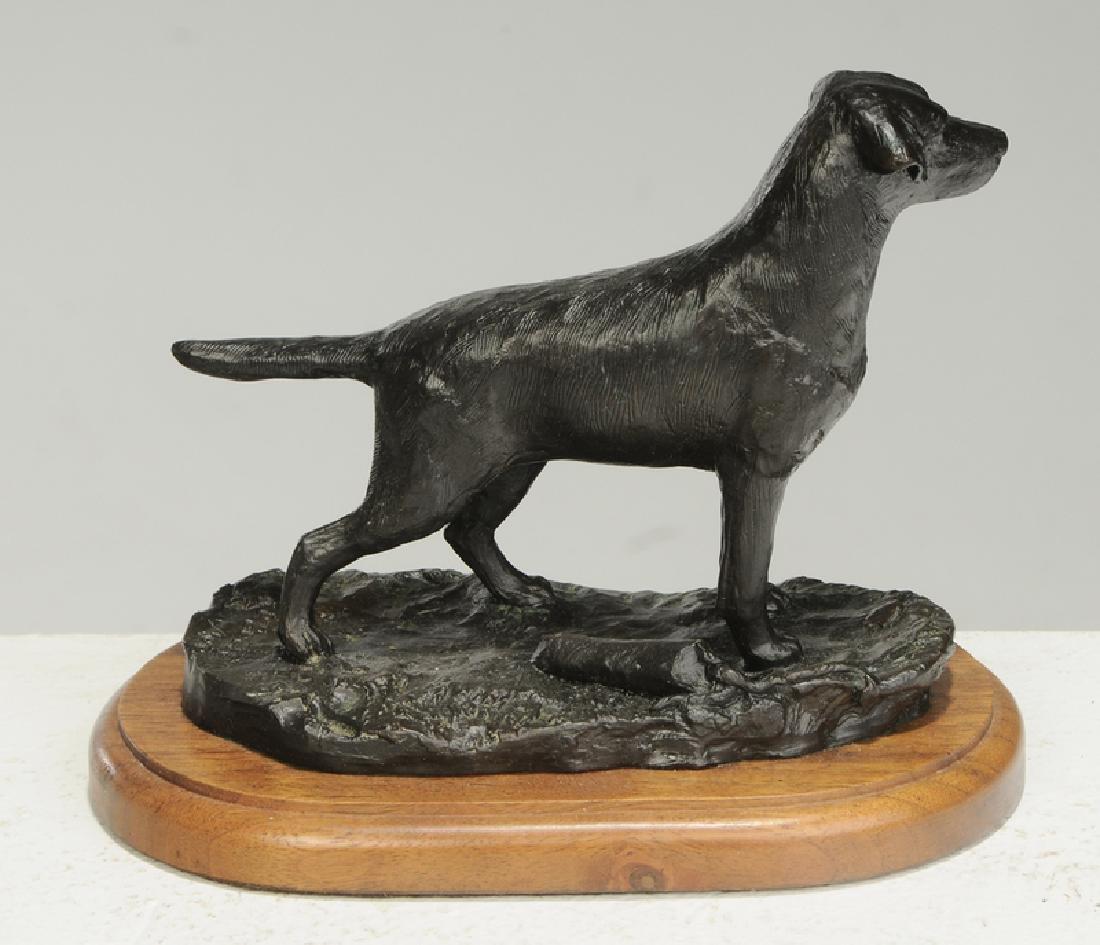 Three Dog Sculptures - 3