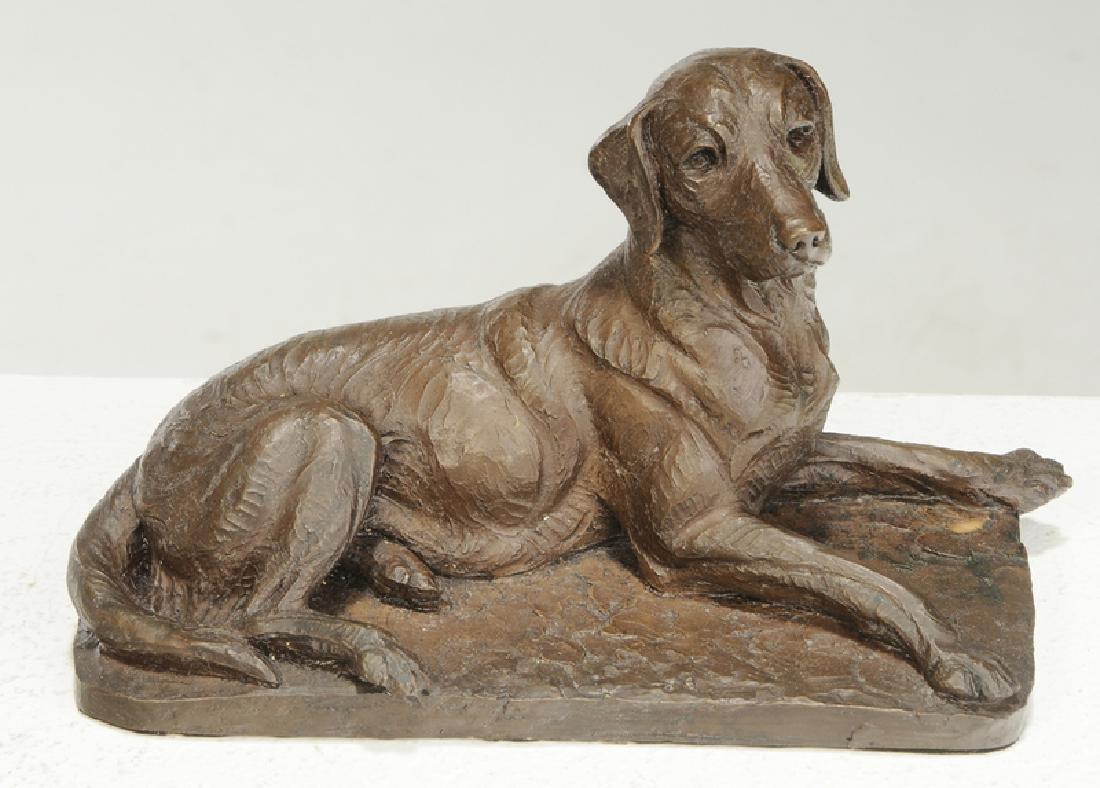 Three Dog Sculptures - 7