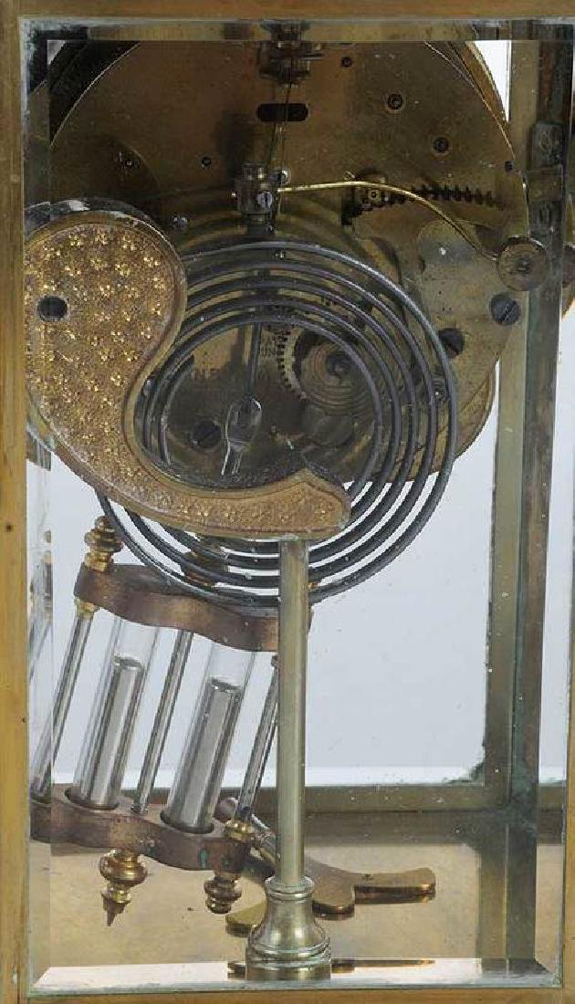 Three Large Brass Carriage Clocks - 10