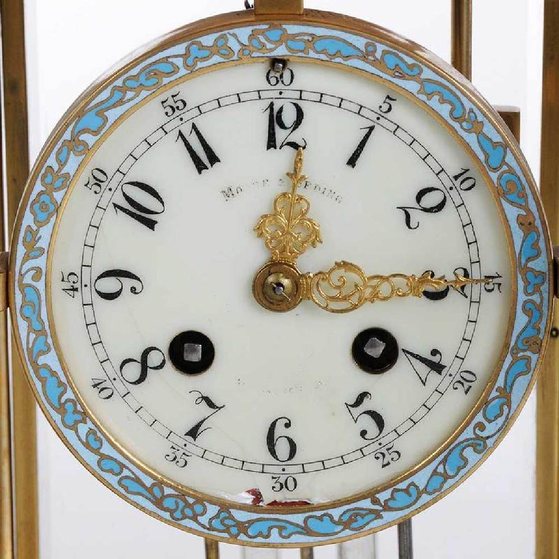 Three Large Brass Carriage Clocks - 7