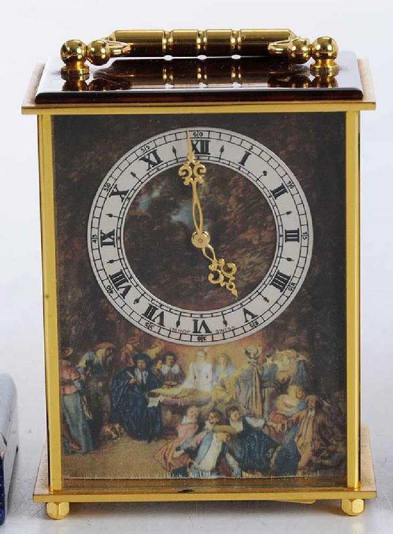 Four Modern Carriage Clocks - 3