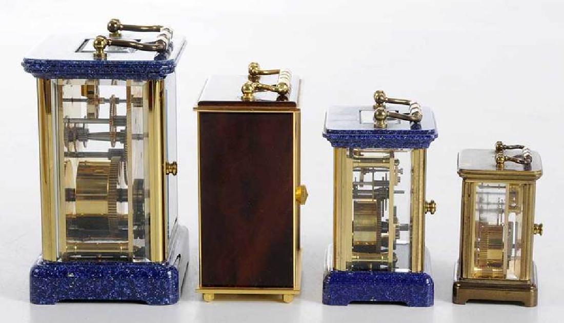 Four Modern Carriage Clocks - 8