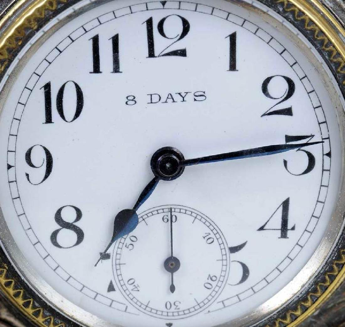 Three Silver Clocks - 11