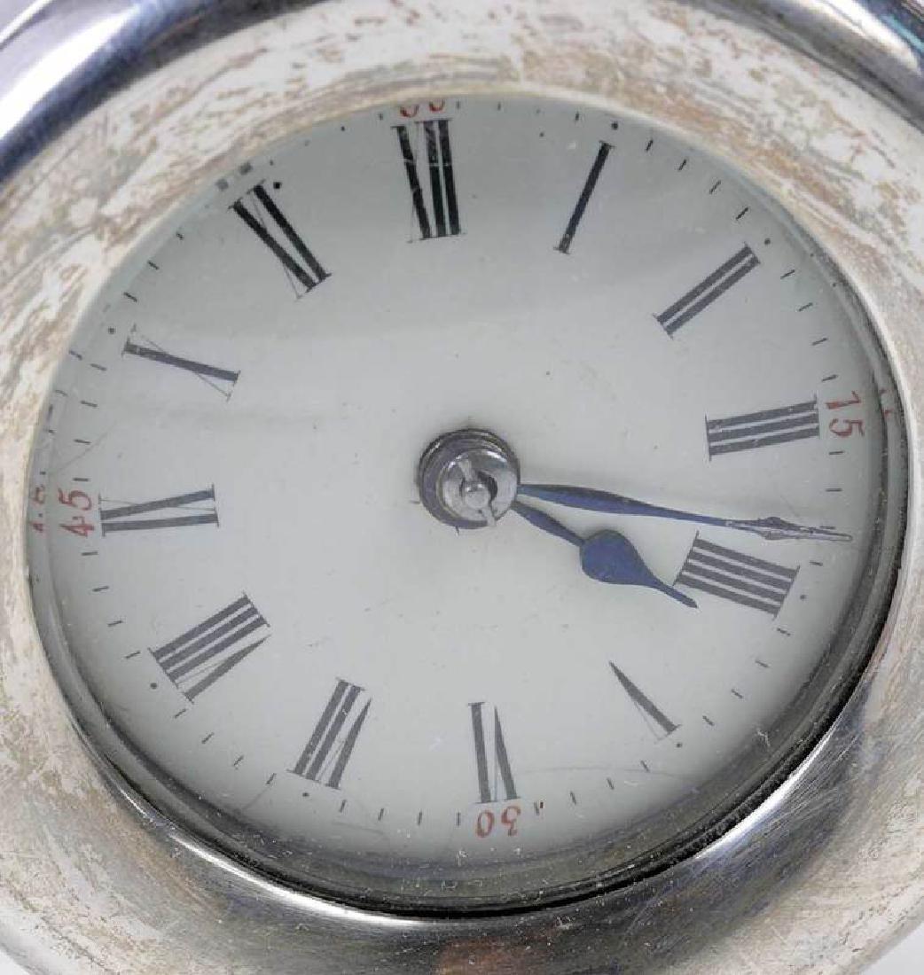 Three Silver Clocks - 12