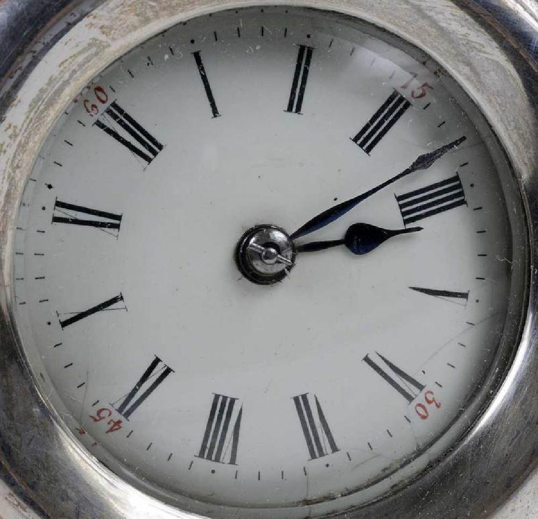 Three Silver Clocks - 13