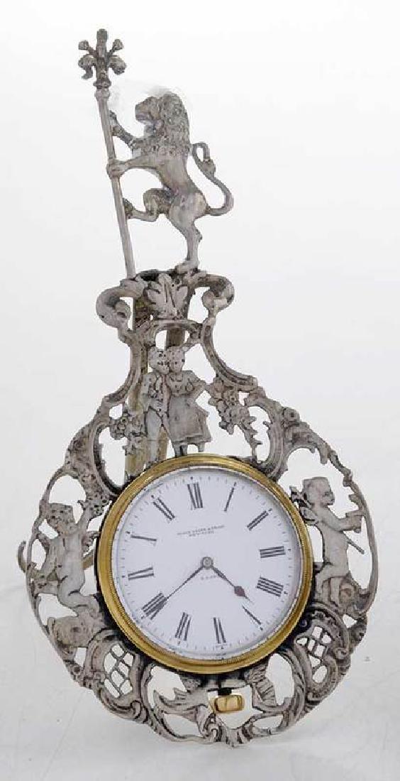 Three Silver Clocks - 2