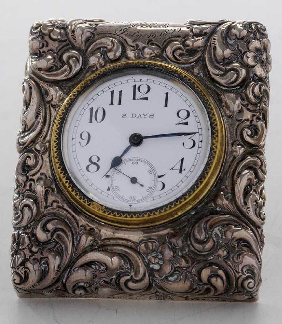 Three Silver Clocks - 3