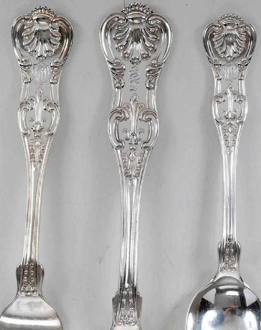 King StylePattern Silver Flatware, 103 pieces - 3