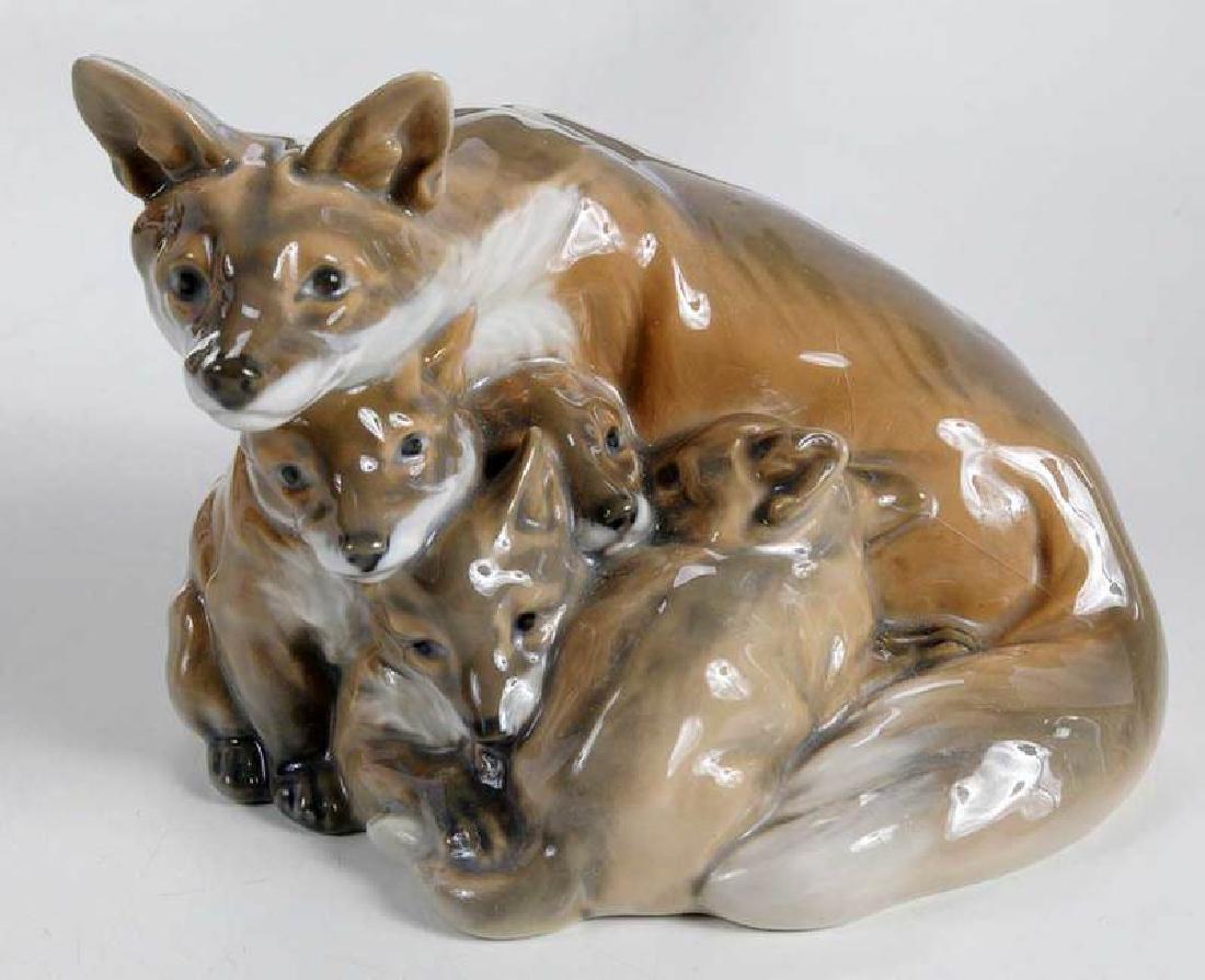 Six Porcelain Animal Figures - 2