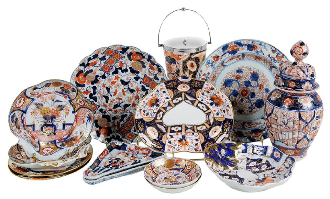 14 Pieces of Imari Porcelain