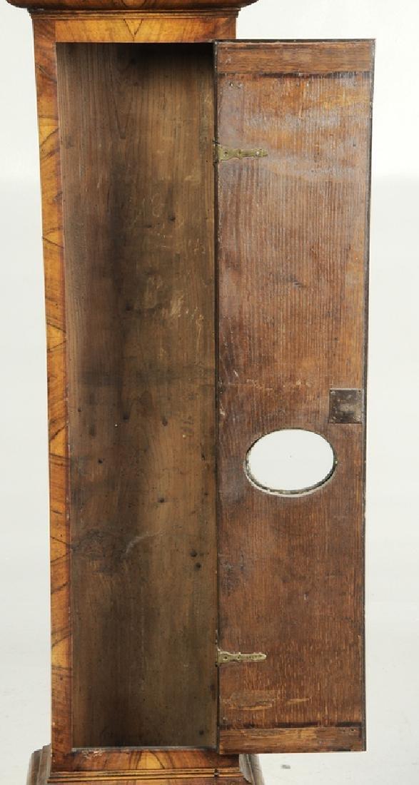 William and Mary Inlaid Walnut Tall Case Clock - 3