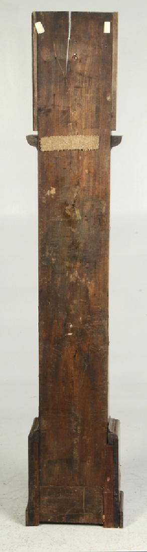 William and Mary Inlaid Walnut Tall Case Clock - 6
