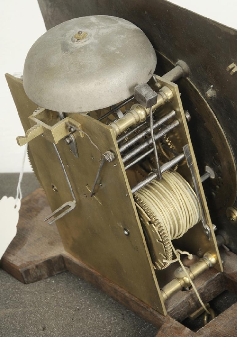 William and Mary Inlaid Walnut Tall Case Clock - 8