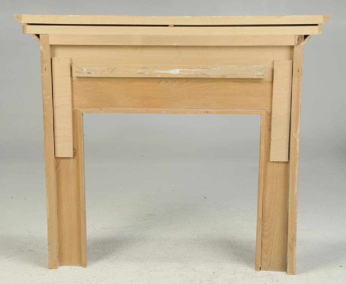 Chippendale Style Carved Fireplace Surround - 3