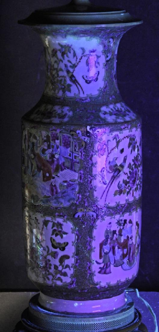 Two Chinese Porcelain Table Lamps - 10