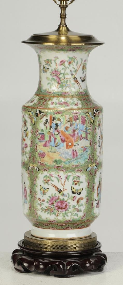 Two Chinese Porcelain Table Lamps - 2