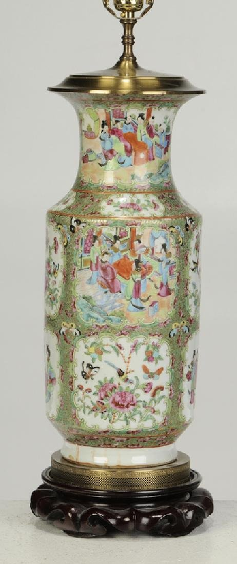 Two Chinese Porcelain Table Lamps - 4