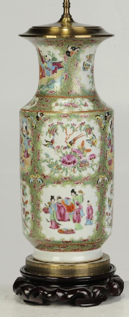 Two Chinese Porcelain Table Lamps - 5