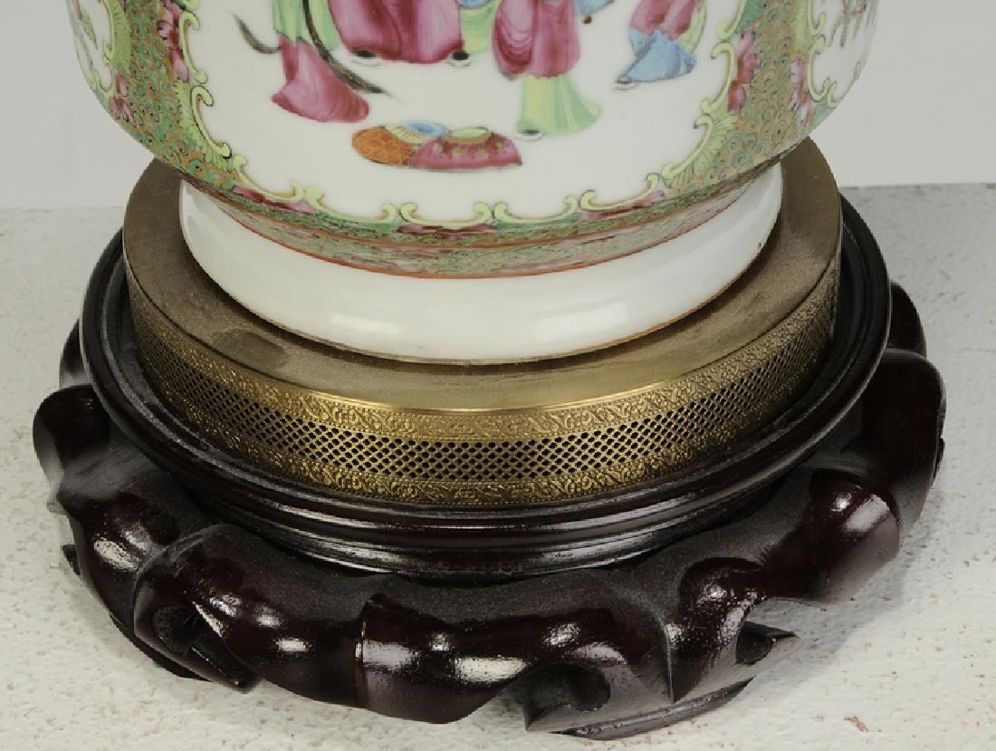 Two Chinese Porcelain Table Lamps - 6