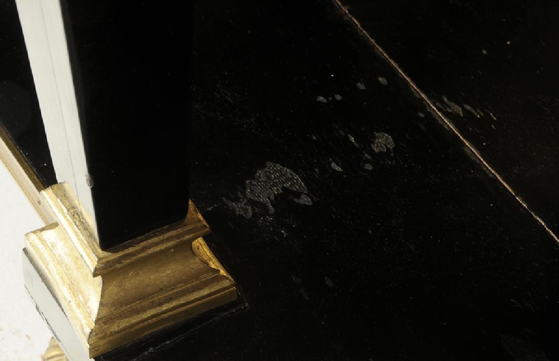 Louis XVI Ebonized Gilt Bronze Console Desserte - 6