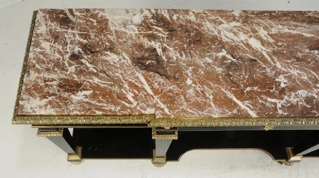 Louis XVI Ebonized Gilt Bronze Console Desserte - 8