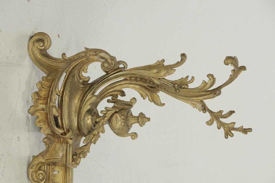 Set of Louis XV Style Gilt Bronze Chenets - 2