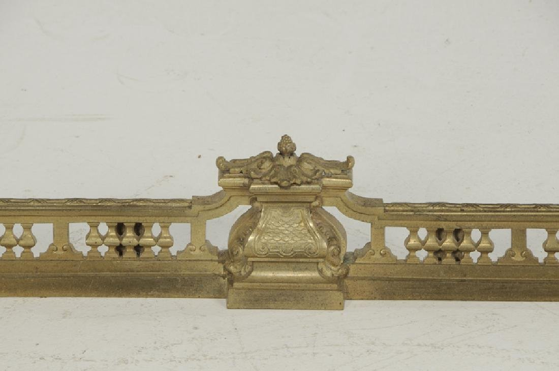 Set of Louis XV Style Gilt Bronze Chenets - 3
