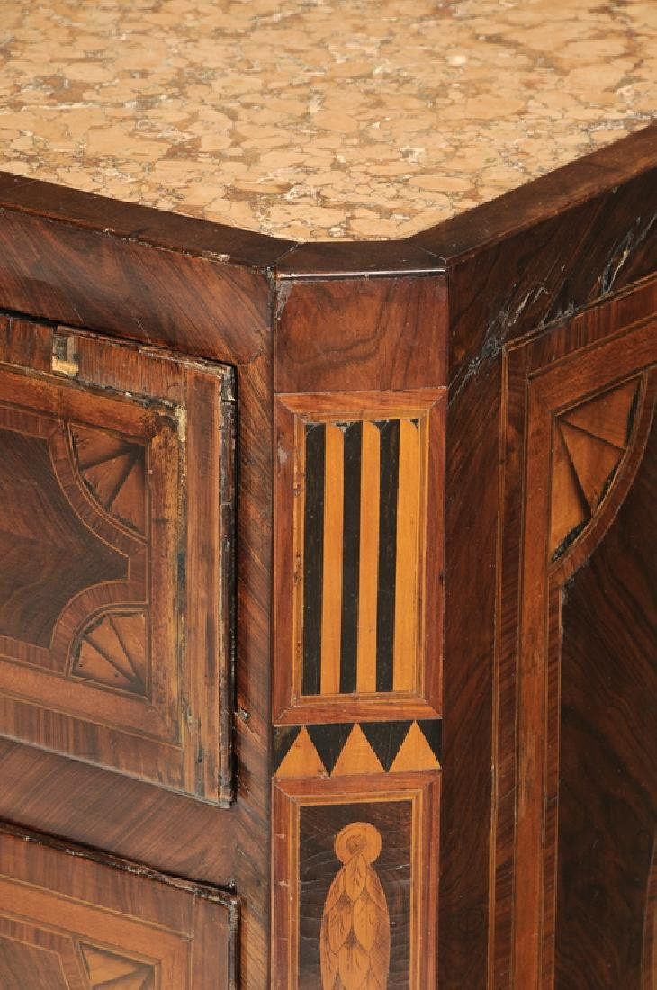 Italian Neoclassical Parquetry Inlaid Commode - 2