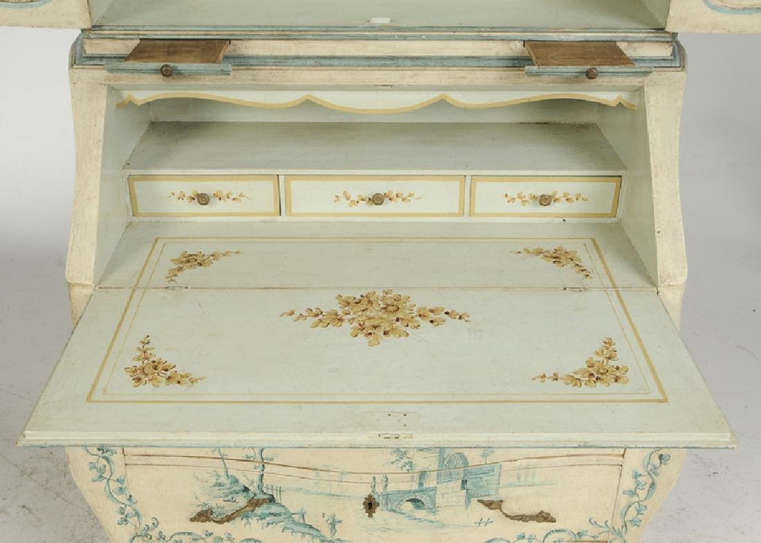 Venetian Style Paint Decorated Secretary - 3