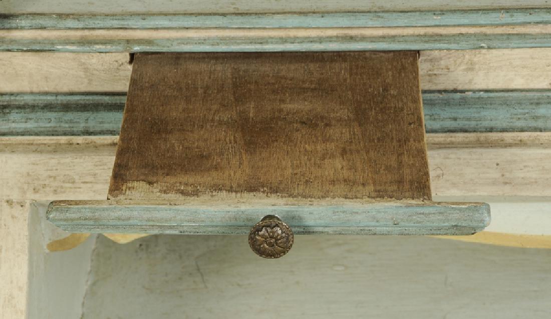 Venetian Style Paint Decorated Secretary - 5