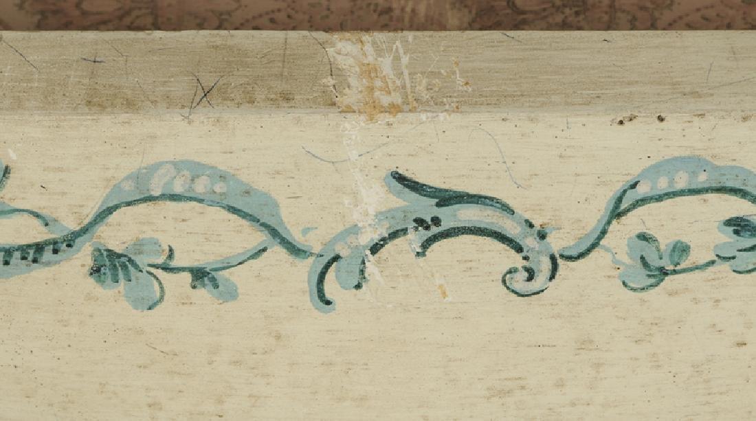 Venetian Style Paint Decorated Secretary - 7