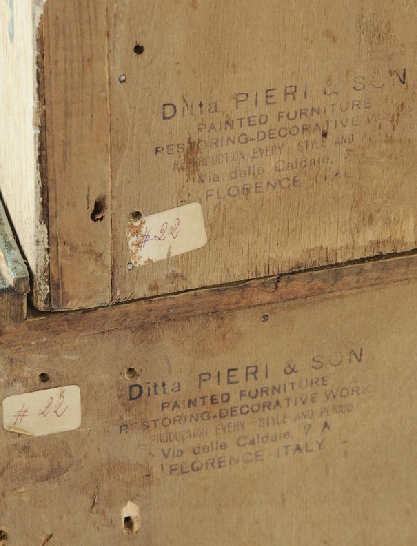 Venetian Style Paint Decorated Secretary - 9