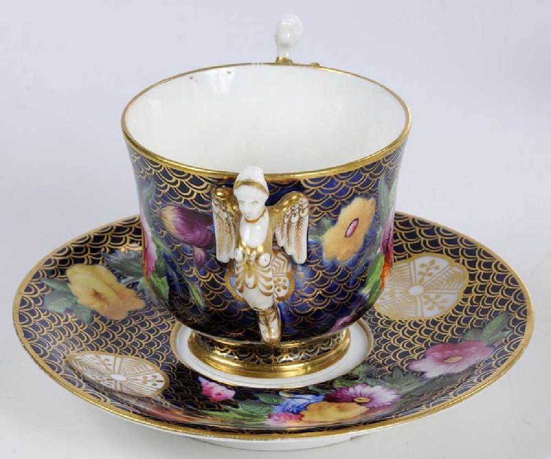 Five Pieces of Porcelain with Floral Decoration - 3