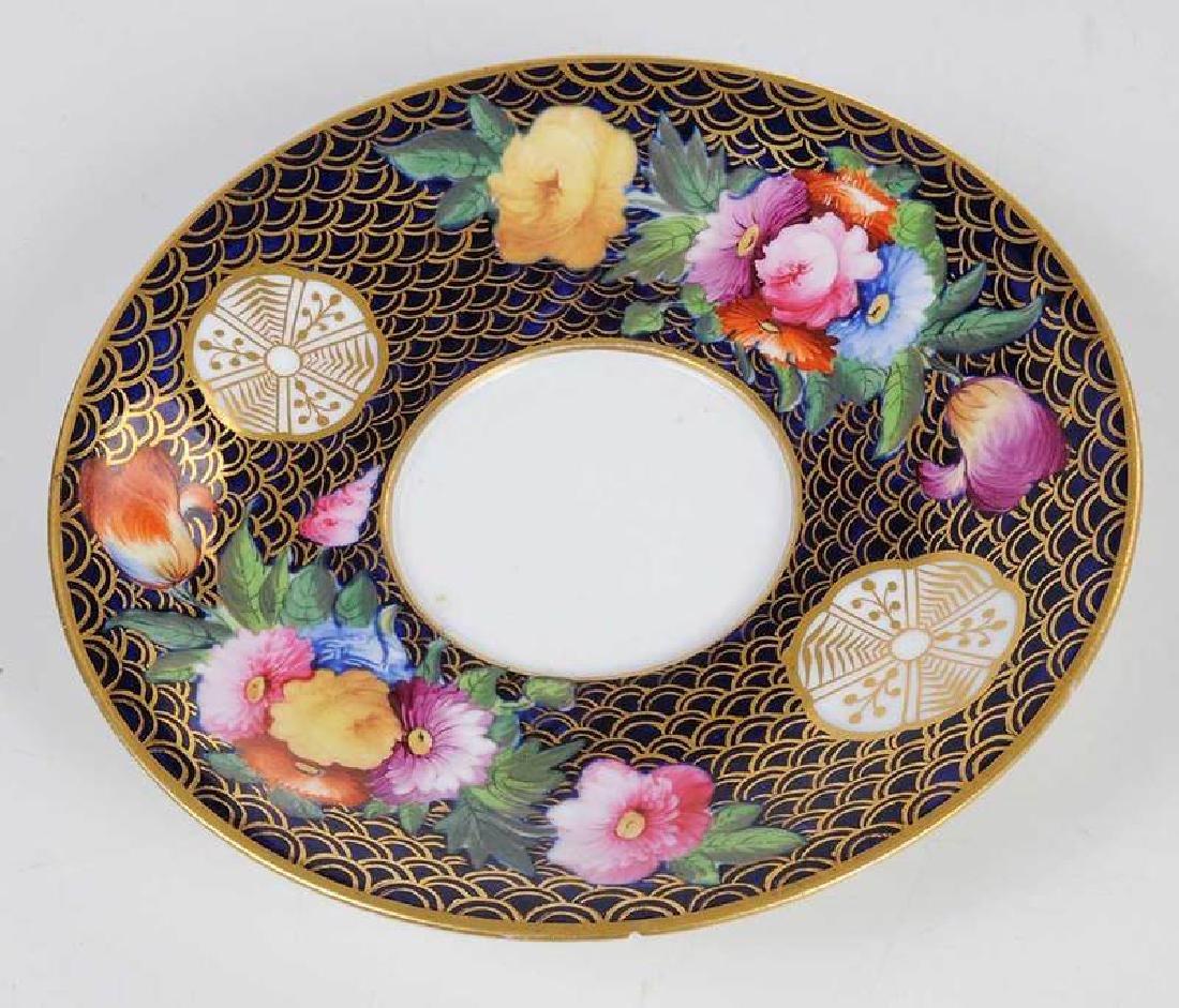 Five Pieces of Porcelain with Floral Decoration - 6