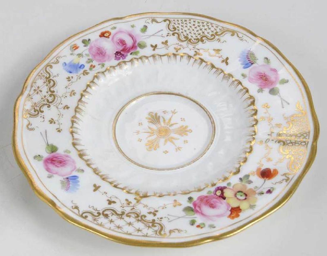 Five Pieces of Porcelain with Floral Decoration - 9