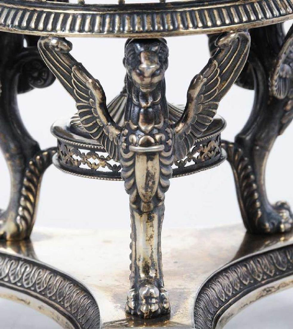 Continental Gilt Silver and Glass Centerbowl - 4