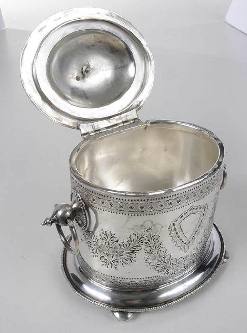 Silver-Plate Biscuit Box - 6