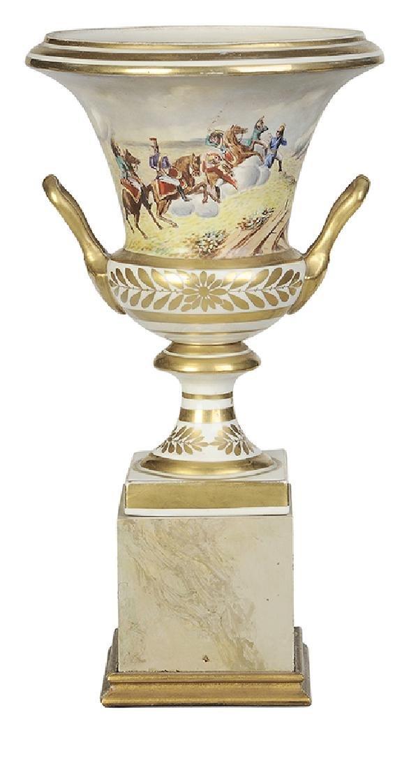 Paris Porcelain Campagna Form Vase