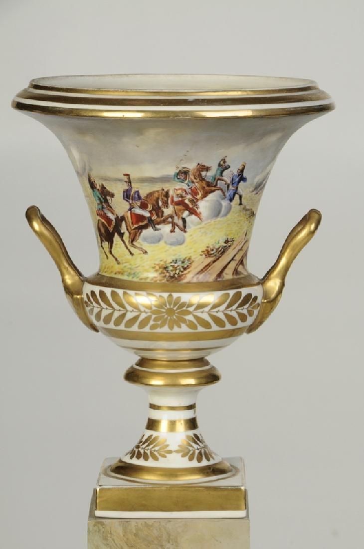 Paris Porcelain Campagna Form Vase - 2