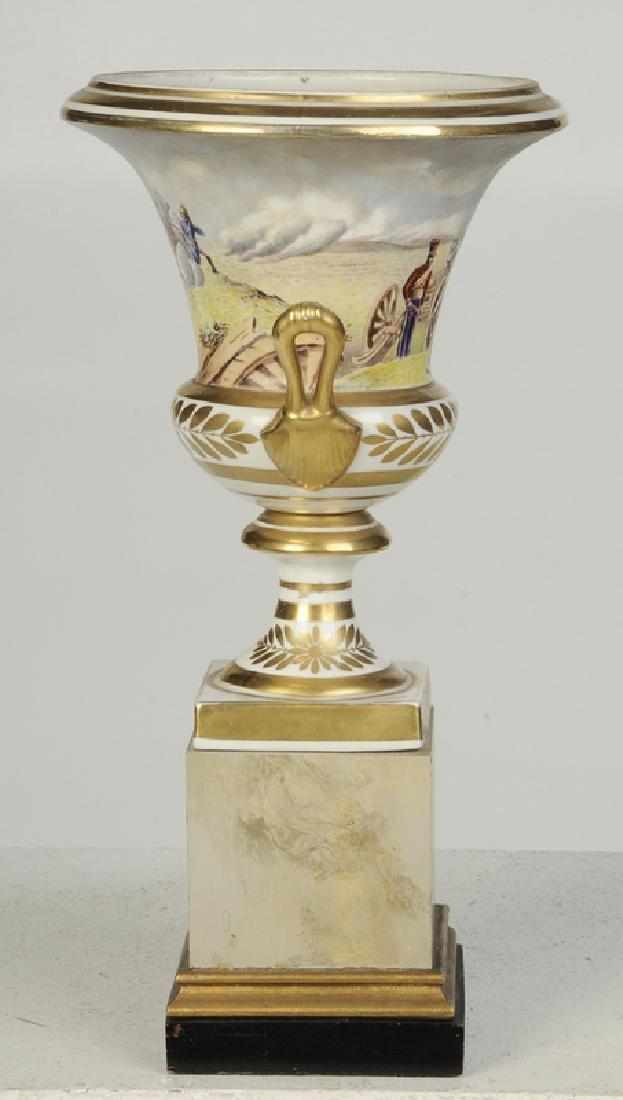Paris Porcelain Campagna Form Vase - 3