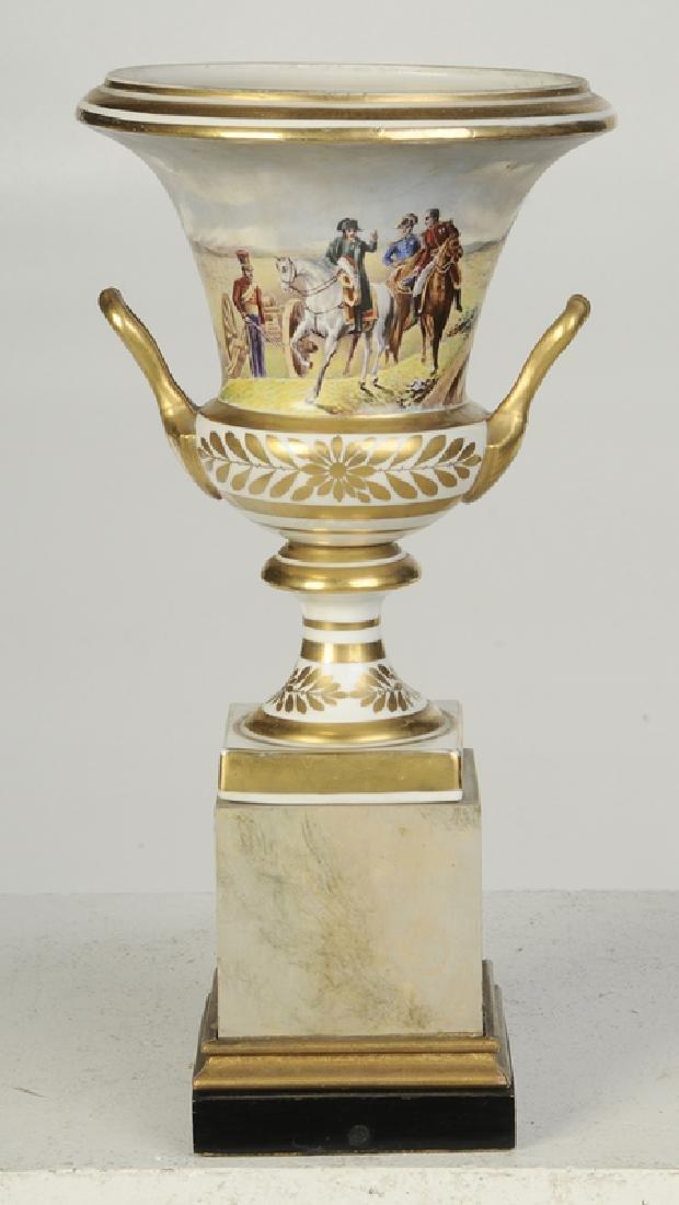 Paris Porcelain Campagna Form Vase - 4