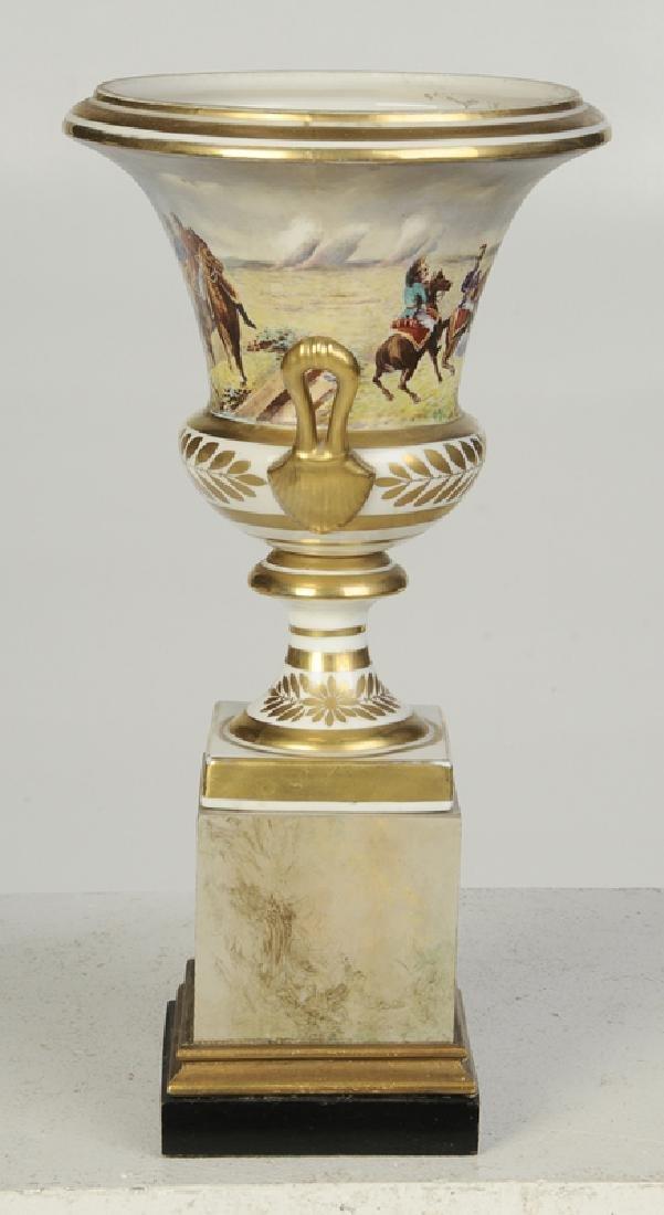 Paris Porcelain Campagna Form Vase - 5