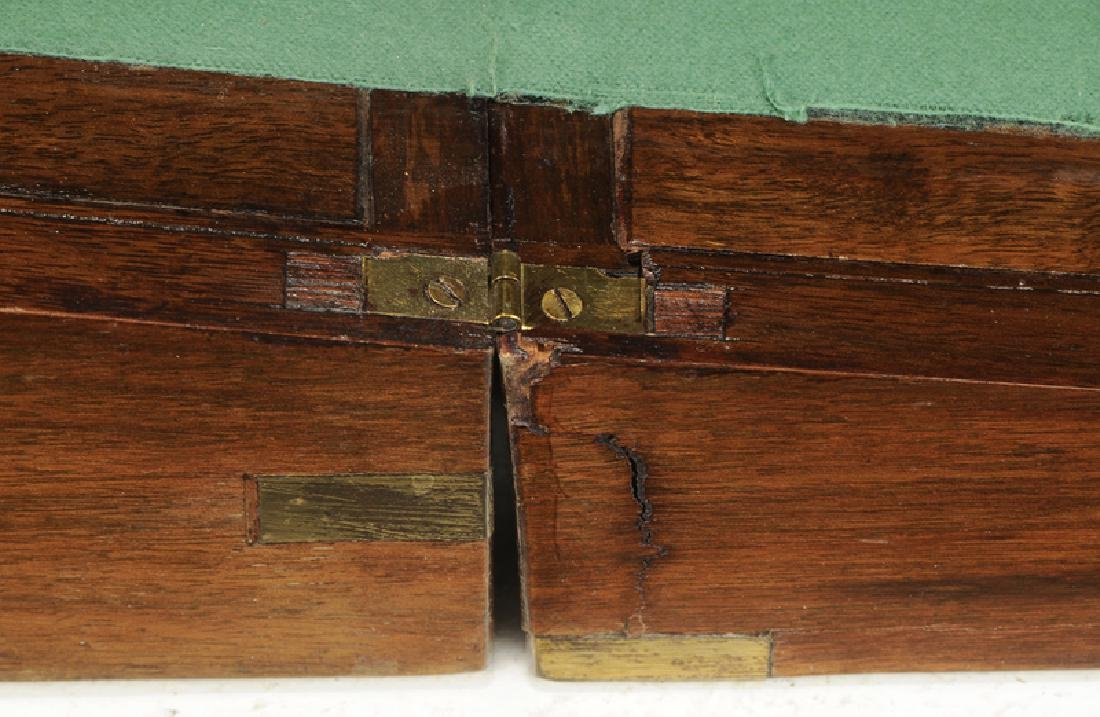 Two Continental Mahogany Wooden Boxes - 6