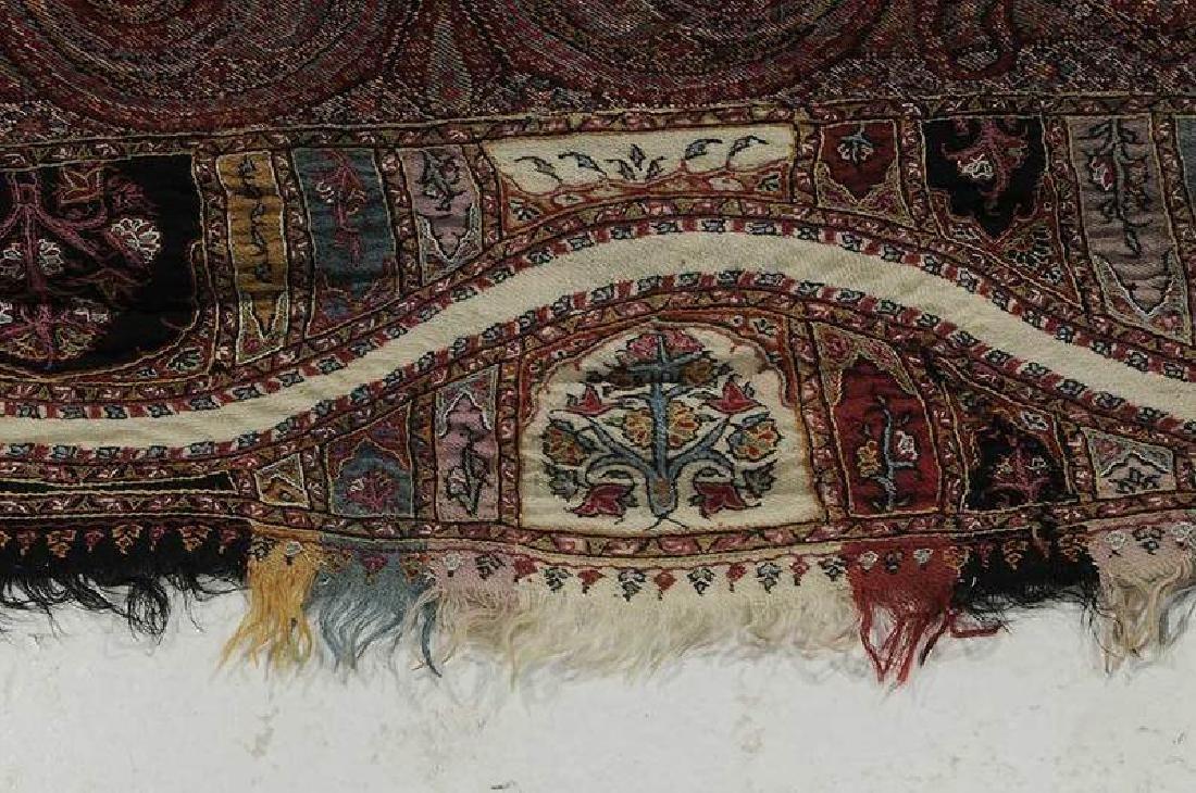 Fine Paisley Wool Shawl - 6